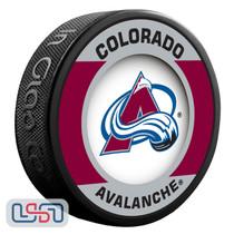 Colorado Avalanche Official NHL Retro Team Logo Souvenir Hockey Puck