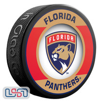 Florida Panthers Official NHL Retro Team Logo Souvenir Hockey Puck