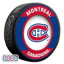 Montreal Canadiens Official NHL Retro Team Logo Souvenir Hockey Puck