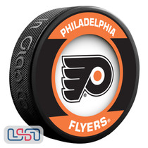 Philadelphia Flyers Official NHL Retro Team Logo Souvenir Hockey Puck