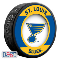 St. Louis Blues Official NHL Retro Team Logo Souvenir Hockey Puck