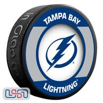 Tampa Bay Lightning Official NHL Retro Team Logo Souvenir Hockey Puck