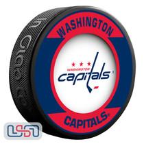 Washington Capitals Official NHL Retro Team Logo Souvenir Hockey Puck