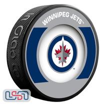 Winnipeg Jets Official NHL Retro Team Logo Souvenir Hockey Puck