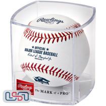 Joe Mauer Minnesota Twins #7 Retirement Official MLB Rawlings Baseball - Cubed