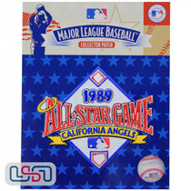 1989 All Star Game MLB Logo Jersey Sleeve Patch Licensed California Angels