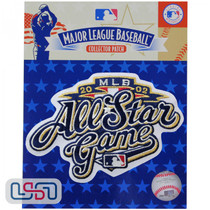 2002 All Star Game MLB Logo Jersey Sleeve Patch Licensed Milwaukee Brewers