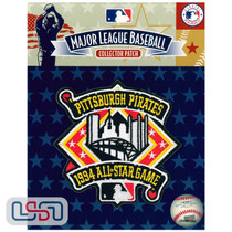 1994 All Star Game MLB Logo Jersey Sleeve Patch Licensed Pittsburgh Pirates