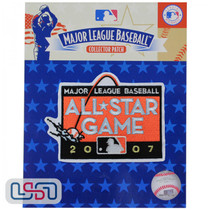 2007 All Star Game MLB Logo Jersey Sleeve Patch Licensed San Francisco Giants