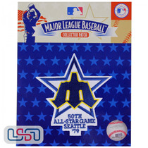 1979 All Star Game MLB Logo Jersey Sleeve Patch Licensed Seattle Mariners