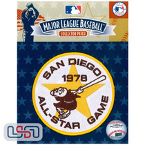 1978 All Star Game MLB Logo Jersey Sleeve Patch Licensed San Diego Padres