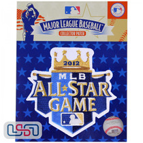 2012 All Star Game MLB Logo Jersey Sleeve Patch Licensed Kansas City Royals