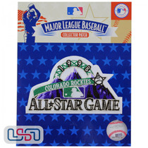 1998 All Star Game MLB Logo Jersey Sleeve Patch Licensed Colorado Rockies