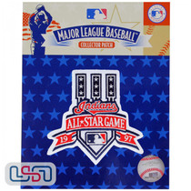 1997 All Star Game MLB Logo Jersey Sleeve Patch Licensed Cleveland Indians