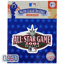 2001 All Star Game MLB Logo Jersey Sleeve Patch Licensed Seattle Mariners