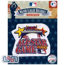2000 All Star Game MLB Logo Jersey Sleeve Patch Licensed Atlanta Braves