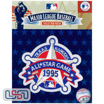 1995 All Star Game MLB Logo Jersey Sleeve Patch Licensed Texas Rangers