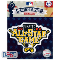2006 All Star Game MLB Logo Jersey Sleeve Patch Licensed Pittsburgh Pirates