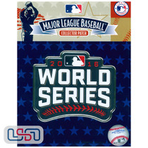 2016 World Series Game MLB Logo Jersey Sleeve Patch Licensed Chicago Cubs