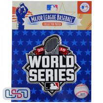 2015 World Series Game MLB Logo Jersey Sleeve Patch Licensed Kansas City Royals