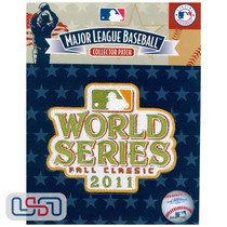 2011 World Series Game MLB Logo Jersey Sleeve Patch Licensed St. Louis Cardinals