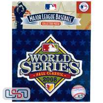 2008 World Series Game MLB Logo Jersey Sleeve Patch Licensed Philadelphia Phillies
