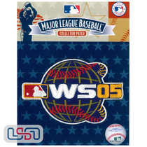 2005 World Series Game MLB Logo Jersey Sleeve Patch Licensed Chicago White Sox