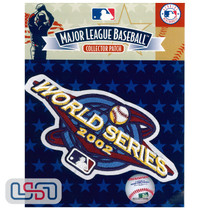 2002 World Series Game MLB Logo Jersey Sleeve Patch Licensed Anaheim Angels