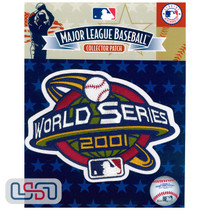 2001 World Series Game MLB Jersey Sleeve Patch Licensed Arizona Diamondbacks