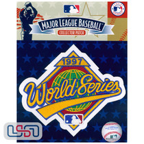 1997 World Series Game MLB Logo Jersey Sleeve Patch Licensed Florida Marlins