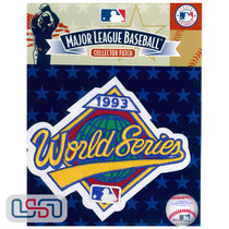 1993 World Series Game MLB Logo Jersey Sleeve Patch Licensed Toronto Blue Jays