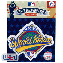 1992 World Series Game MLB Logo Jersey Sleeve Patch Licensed Toronto Blue Jays