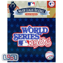 1986 World Series Game MLB Logo Jersey Sleeve Patch Licensed New York Mets