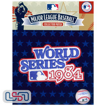 1984 World Series Game MLB Logo Jersey Sleeve Patch Licensed Detroit Tigers