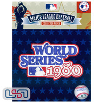 1980 World Series Game MLB Jersey Sleeve Patch Licensed Philadelphia Phillies