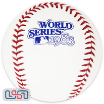 1983 World Series Official MLB Rawlings Baseball Baltimore Orioles - Boxed