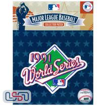 1991 World Series Game MLB Logo Jersey Sleeve Patch Licensed Minnesota Twins