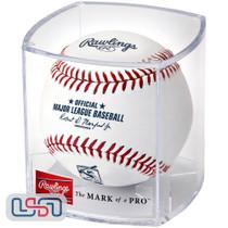 Edgar Martinez Seattle Mariners #11 Retirement MLB Rawlings Baseball - Cubed