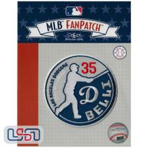 "Cody Bellinger ""Belli"" MLB Logo Jersey Sleeve Patch Licensed Los Angeles Dodgers"
