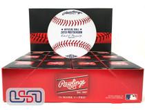 (12) 2019 Postseason MLB Rawlings Baseball Washington Nationals Boxed - Dozen