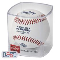 2019 World Series Official MLB Rawlings Baseball Washington Nationals - Cubed