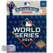 2019 World Series Game MLB Logo Jersey Sleeve Patch Licensed Nationals