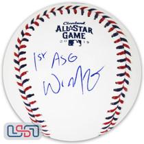 "Whit Merrifield Royals Signed ""1st ASG"" 2019 All Star Game Baseball JSA Auth"