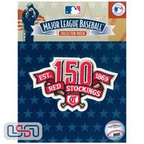 Cincinnati Reds 150th Anniversary MLB Logo Jersey Sleeve Patch Licensed