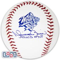 "Mariano Rivera Yankees Signed ""99 WS MVP"" 1999 World Series Baseball JSA Auth"