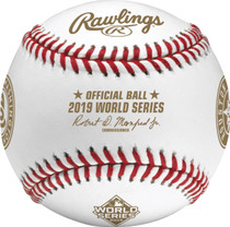 2019 World Series Dueling Teams MLB Rawlings Baseball Nationals Astros - Boxed