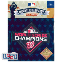 2019 World Series Champions MLB Logo Jersey Sleeve Patch Licensed Nationals