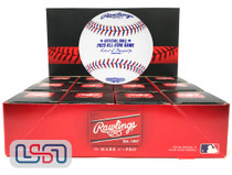 (12) 2020 All Star Game MLB Rawlings Baseball Los Angeles Dodgers Boxed - Dozen