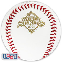 2008 World Series Official MLB Rawlings Baseball Philadelphia Phillies - Boxed