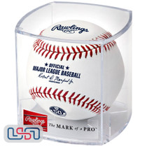 Milwaukee Brewers 50th Anniversary Official MLB Rawlings Baseball - Cubed